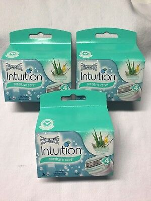 WILKINSON Sword Intuition Sensitive Care RASIERKLINGEN, 9 Stück, OVP