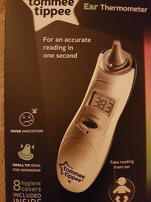 TOMMEE TIPPEE CTN Digital Ear Thermometer - £19.50 | PicClick UK