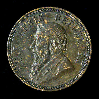 1894 South Africa Penny About Uncirculated