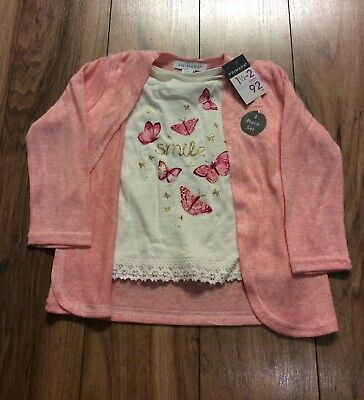 Brand New Girls Top & Cardigan Size 18-24 Months