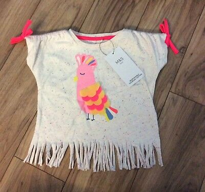 Brand New M&S Girls Top Size 18-24 Months
