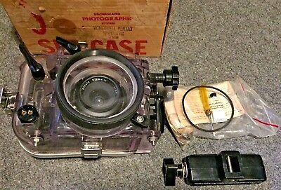 Ikelite Underwater Housing for Pentax Spotmatic - includes camera & 35mm Lens