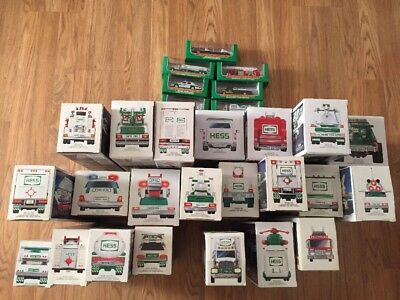 Hess Truck Collection - Lot of 29-New In Box's 1988-2007