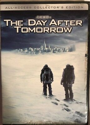 The Day After Tomorrow (DVD, 2005, All Access 2 Disc Collector's Edition)