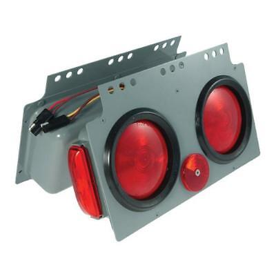 """Grote 51032 - Red Stop Tail Turn 4"""" Light Power Module with Side Marker"""