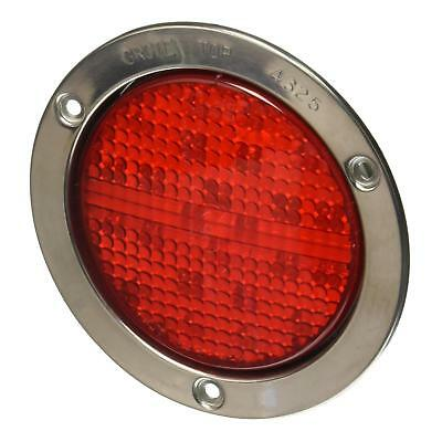 """Grote 53192 - Red SuperNova 4"""" Full-Pattern LED Stop Tail Turn Lights"""