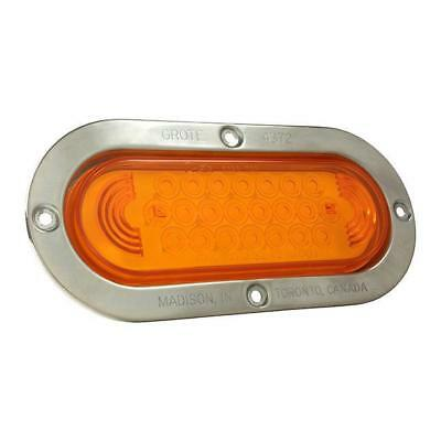 Grote 53973 - Yellow SuperNova Oval LED Stop Tail Turn Lights
