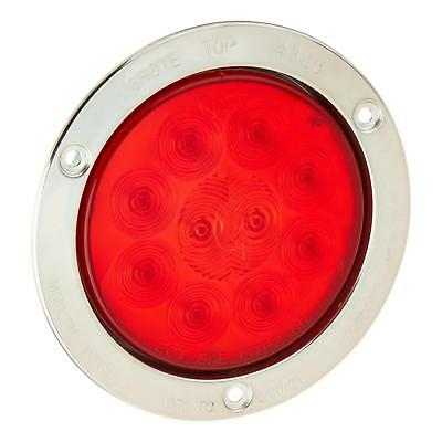 """Grote 53302 - Red SuperNova 4"""" 10-Diode Pattern LED Stop Tail Turn Lights"""