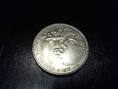 "Portugal 25 Escudos 1979 ""International Child Year"" Coin"