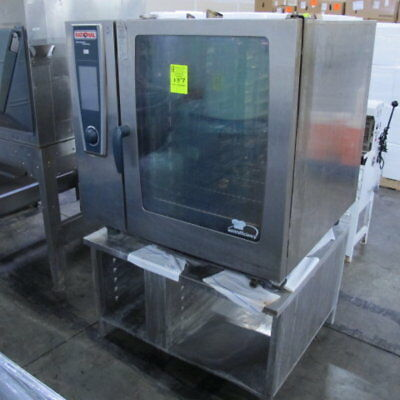 Rational SCCWE102G Gas Combi Oven with 5 Senses - Nat Gas -  Free Shipping