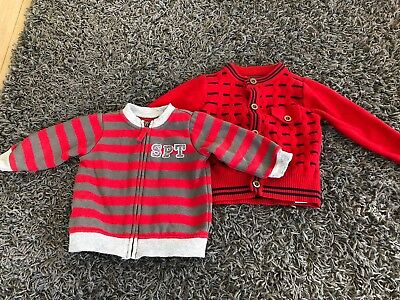 Bundle Boys Jumpers Size 0 9-12 Months Zara And Sprout