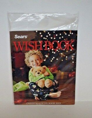 Sears Christmas Wish Book  2013 Catalogue   ~ New New & Sealed