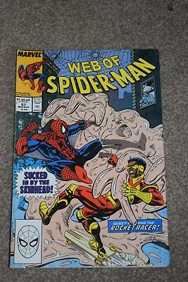 Marvel Comics - WEB OF SPIDER-MAN vol.1 no.57, November 1989