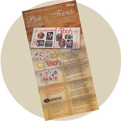 Creative Memories Ideas Booklet Only POOH & FRIENDS