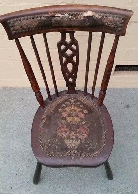 Antique chair early 1920's - Suitable for restoration