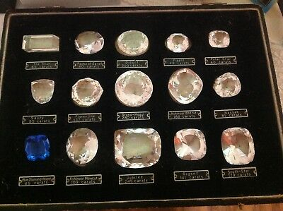 Boxed Set Of Reproduction Historical Diamonds Replica