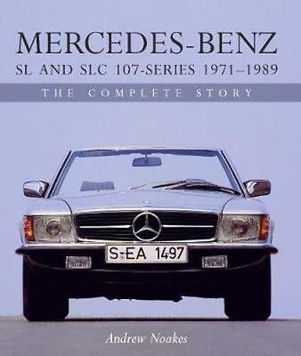 NEW Mercedes-Benz Sl And Slc 107-Series 1971-1989 by Andrew... BOOK (Hardback)