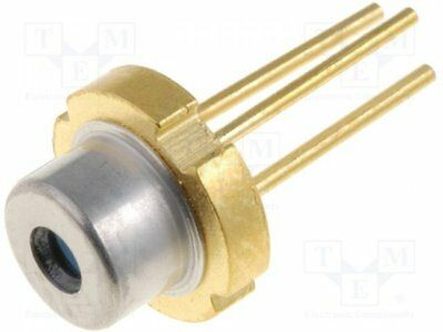 1 pcs Diode: laser; 630-640nm; 15mW; 7.5/33; TO18; Mounting: THT