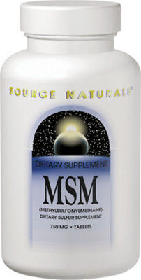 MSM with Vitamin C, Source Naturals, 120 tablet 1000 mg