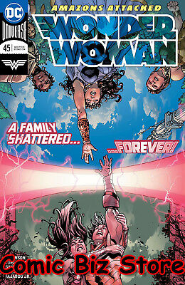 Wonder Woman #45 (2018) 1St Printing Bagged & Boarded Dc Comics Universe Rebirth