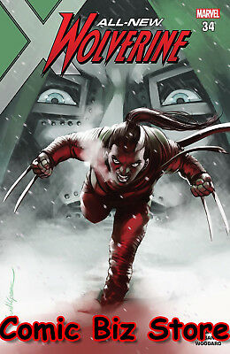 All New Wolverine #34 (2018) 1St Printing Bagged & Boarded Marvel Legacy Tie-In
