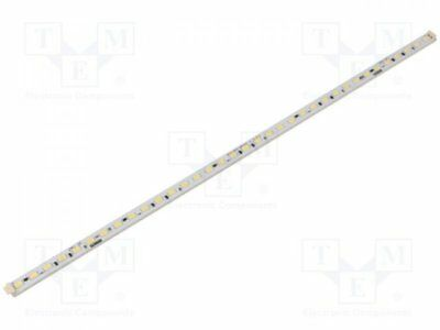 1 pcs Module: LED strip; 24V; Colour: white cold; 5000(typ)K; 650mA