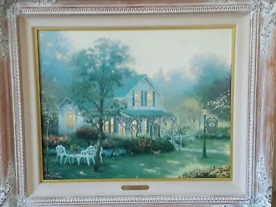 Thomas Kinkade The Village Inn Limited Edition Print Size 50cm X 40cm Canvas