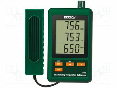 1 pcs Logger: carbon dioxide, temperature and humidity; LCD 60x50mm