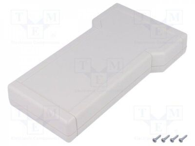 1 pcs Enclosure: for devices with displays; X:116mm; Y:210mm; Z:31mm