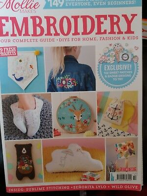 mollie makes magazine Embroidery