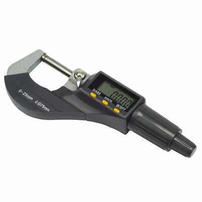 "Carbide Digital Electronic Lcd Pro 0.00005"" Precision Micrometer 0-25mm Tool"