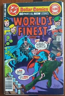 World's Finest 248 DC comic ~F 1977 Batman Superman