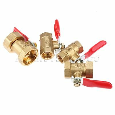 """1pc High Quality Ball Valve Lever Handle 1/8"""" 1/4"""" 3/8"""" 1/2"""" Female to Female"""