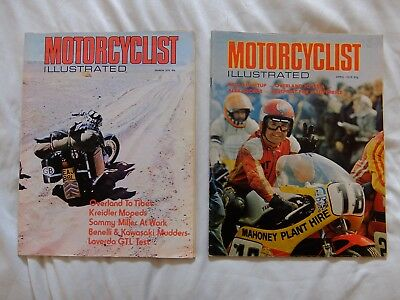 Motorcyclist Illustrated - March and April 1975