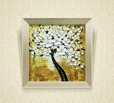 D118 Modern Parlour Wall Decoration Framed Hand Made 100*100 CM Painting W