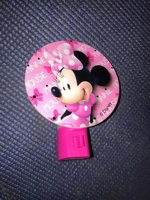 M2- Minnie Mouse Night Light Wall Lamp Disney Cartoon Junior Kids