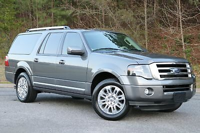 Ford Expedition EL EL LIMITED 2014 EXPEDITION EL LIMITED,GRY/GRY,LEATHER,ALL PWR SUNROOF.NAVI,49K,GREAT SHAPE