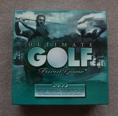 1997 Ultimate Golf Trivia Game *Brand New Unopened*