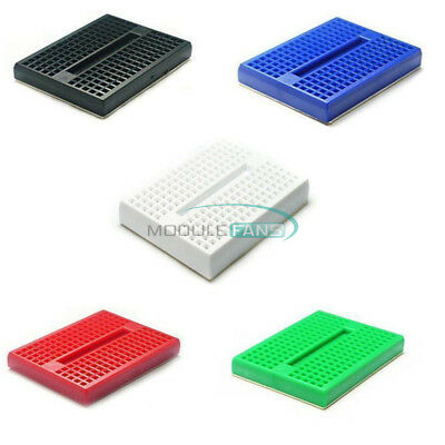 10PCS Colourful Solderless Prototype Breadboard 170 Tie-points Arduino Shield