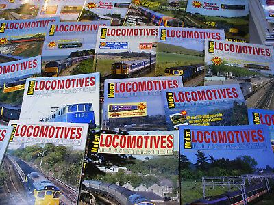 Modern Locomotives Illustrated - Various issues from No 172 - see drop down