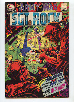 1968 Dc Our Army At War #191 Sgt. Rock Very Fine+ High Grade Unpressed C4