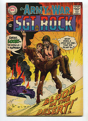 1968 Dc Our Army At War #193 Sgt. Rock Very Fine- Unpressed C4