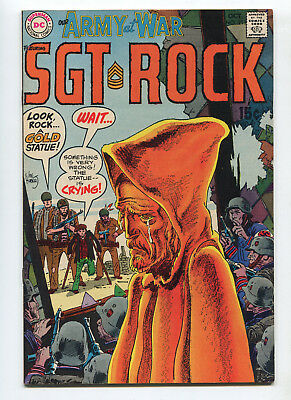 1969 Dc Our Army At War #211 Sgt. Rock Very Fine+ High Grade Unpressed C4