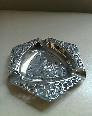 Antique Silver Dutch Ashtray