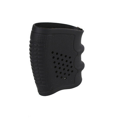 Tactical Slip On Rubber Cover Hand Grip Glove Sleeve For Pistol Handle