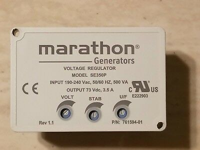 Avr Se350 Genuine Marathon Generator Automatic Voltage Regulator 'made In Usa'