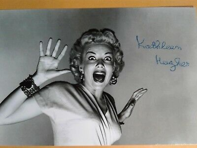 Kathleen Hughes Authentic Hand Signed 4X6 Photo - IT CAME FROM OUTER SPACE !