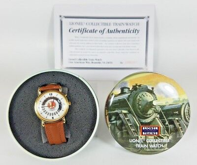 Lionel Trains Collectible Train Wrist watch in Collectors Tin