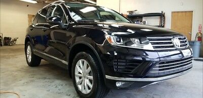 2015 Volkswagen Touareg TDI Sport w/ Technology 3.0 Liter V6 Clean Diesel Engine with Common Rail Direct Injection.