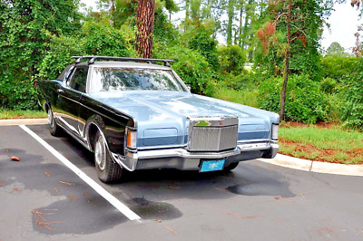 1970 Lincoln Continental chrome 1970 lincoln continental mark III